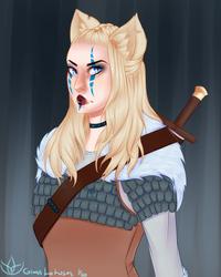 Freya the Aasimar