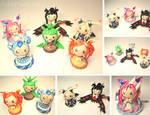 Pokemon X Y Chibis by xRcks