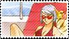 Franziska Gavin stamp by IlzeProductions