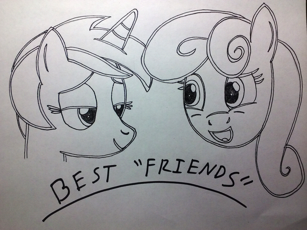 LyraBon - Best Friends by boardgamebrony