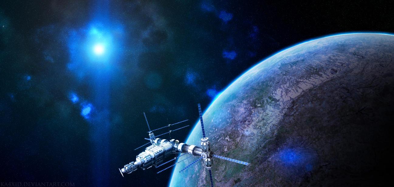 Kerbal Space Station by ka4xid