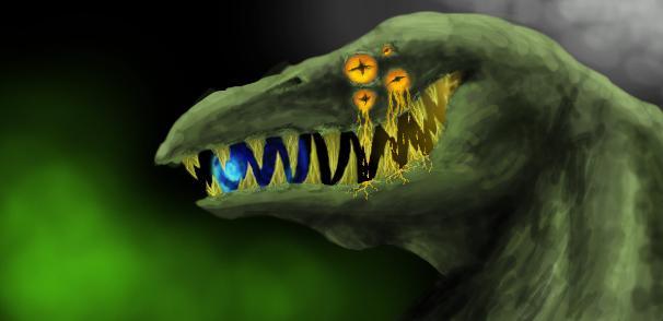 Monster banner by Skritnaja