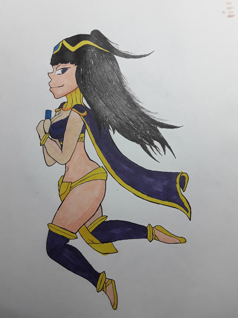 Tharja traditional drawing by Will-Power97