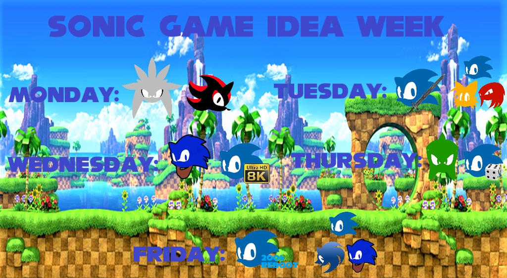 Sonic Game Idea Week