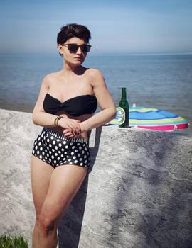 Marina on vacation