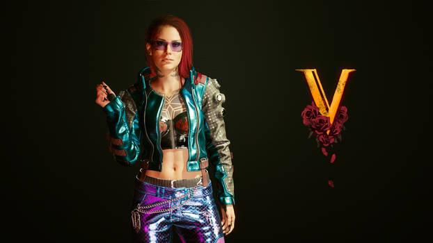 Cyberpunk 2077 - V #1