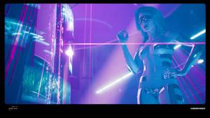 Cyberpunk Dancer #1