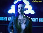 Cyberpunk Girl (FanArt)