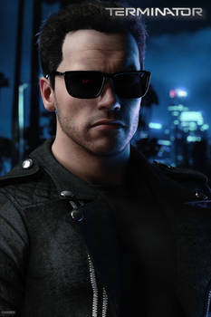 Arni - Terminator FanArt (WIP)