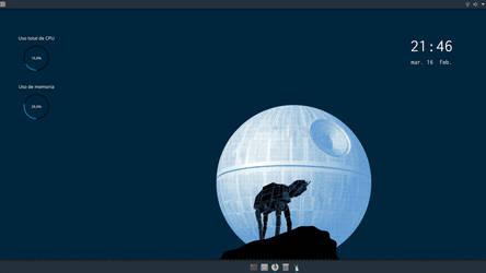 El lobo no lobo, bajo la luna no luna by KOTPA