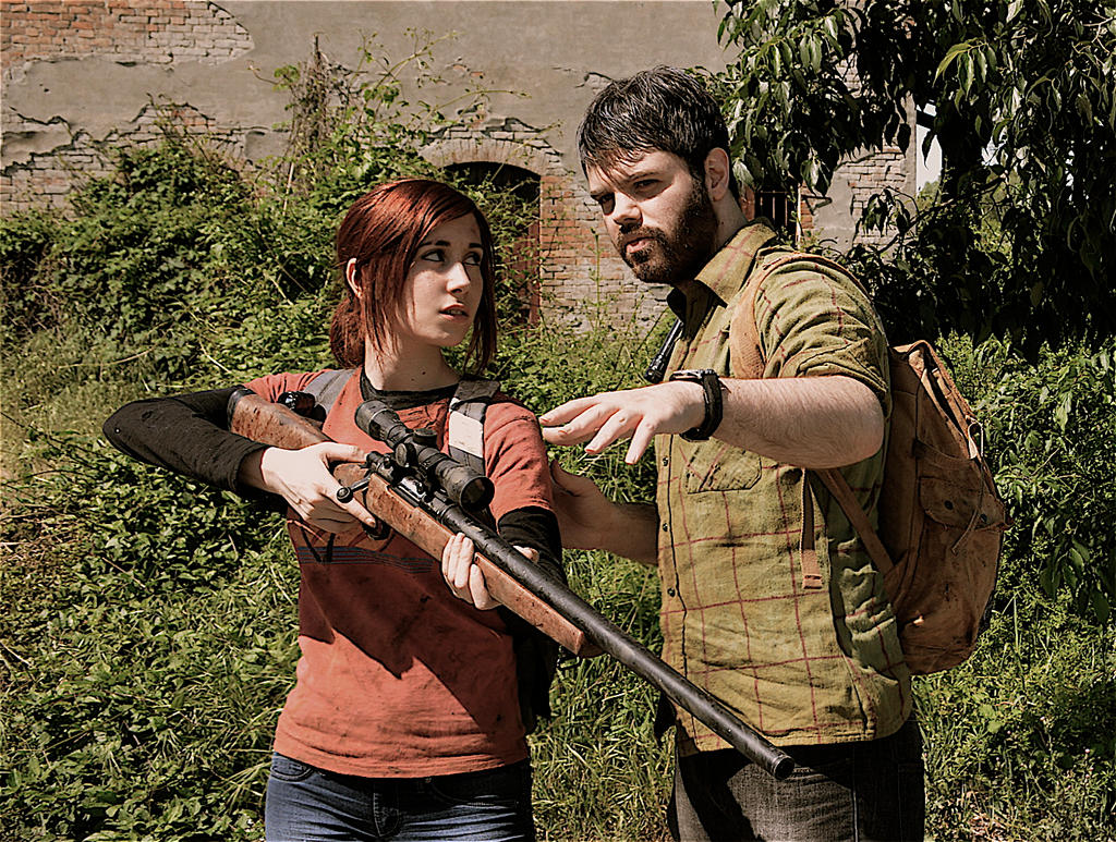 The last of us - Ellie and Joel by Nerdbutpro on DeviantArt