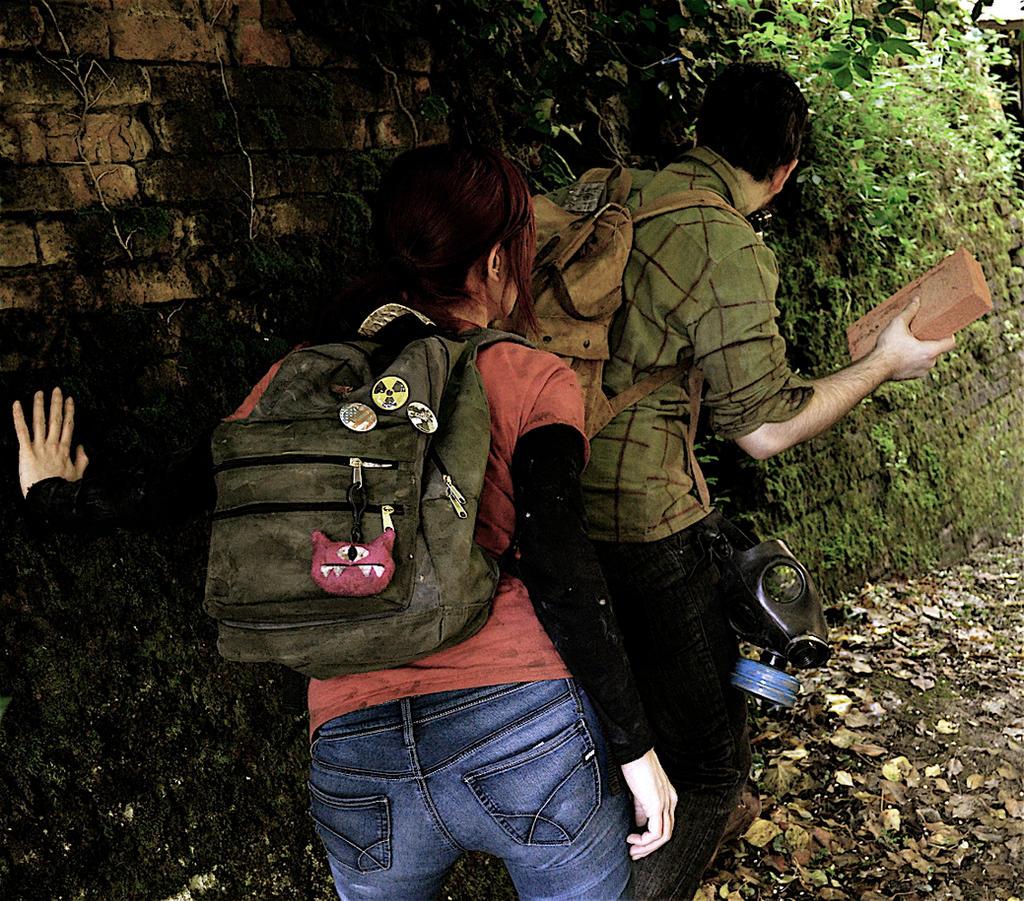 The last of us - Ellie and Joel by Nerdbutpro on deviantART