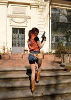 Claire Redfield Cosplay - Resident Evil 2 by Nerdbutpro