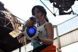 Chell - Portal 2 by Nerdbutpro