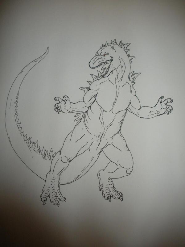 Godzilla v. 2 by hayncobra
