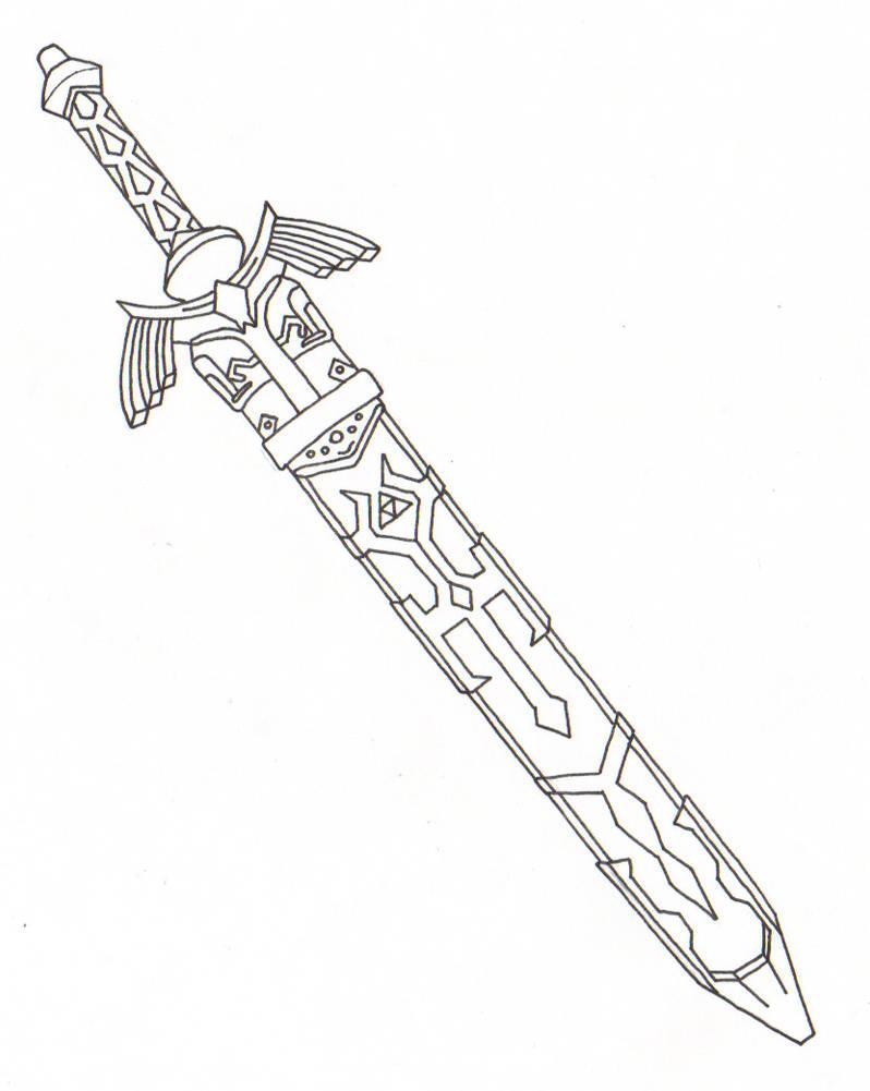 Free Master Sword Cliparts, Download Free Clip Art, Free Clip Art ... | 1001x798