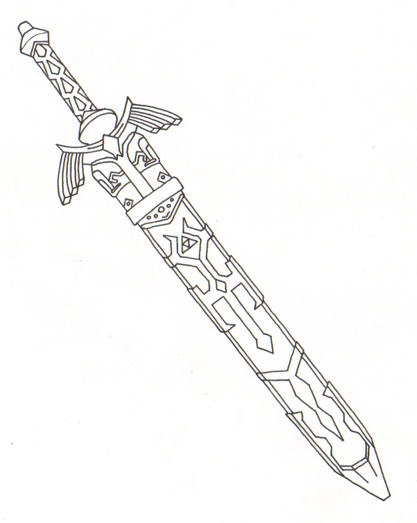 Master Sword Sheath By Ighbonk On Deviantart