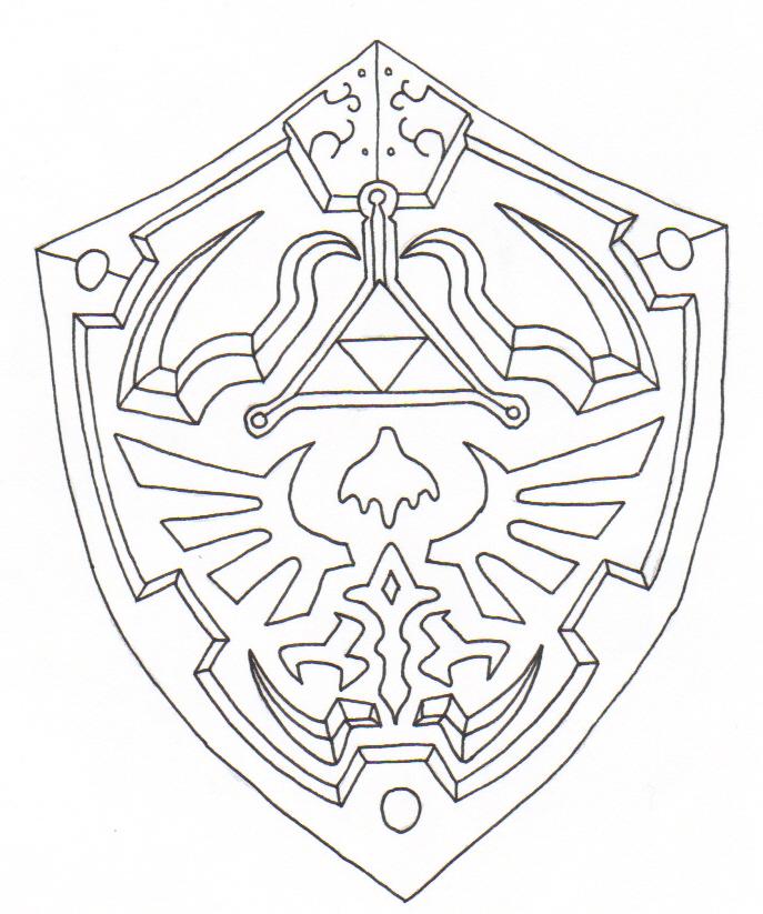 Best 25  Shield drawing ideas on Pinterest   Shield template ...