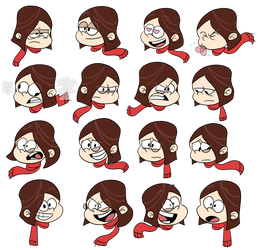 Commission by vdwjohn: OC Laney Loud Expressions by CordellBridges