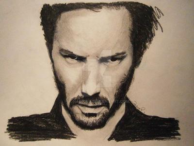 Keanu Reeves by IgnacioRC