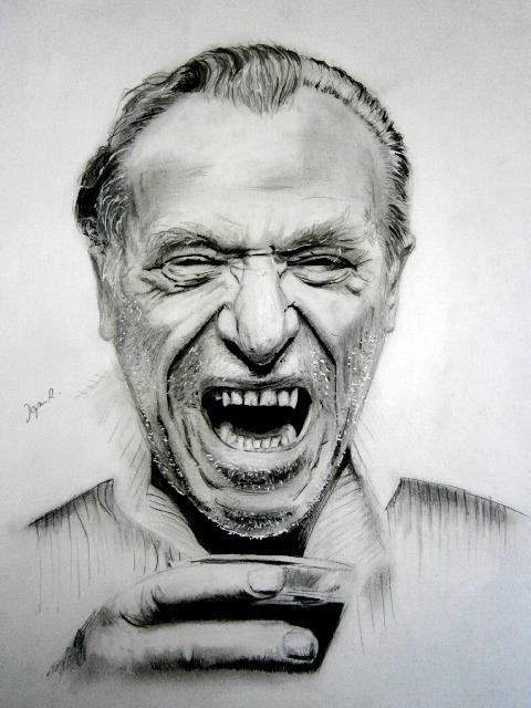 Charles Bukowski by IgnacioRC