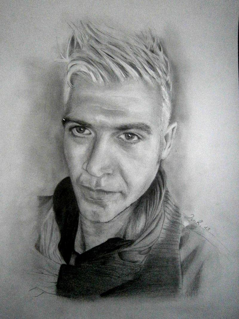 Pencil portrait by IgnacioRC