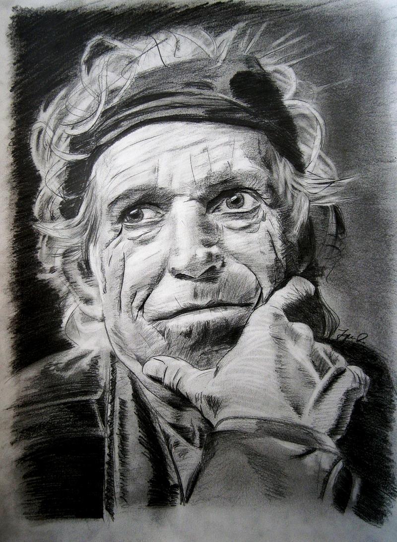 Keith Richards by IgnacioRC