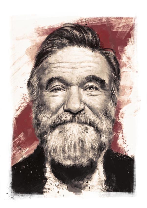 Robin Williams by IgnacioRC