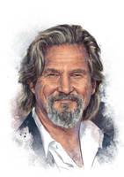 Jeff Bridges by IgnacioRC