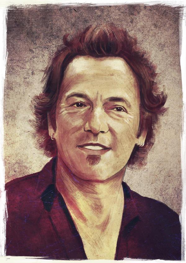 Bruce Springsteen by IgnacioRC