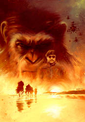 War for the Planet of the Apes by IgnacioRC
