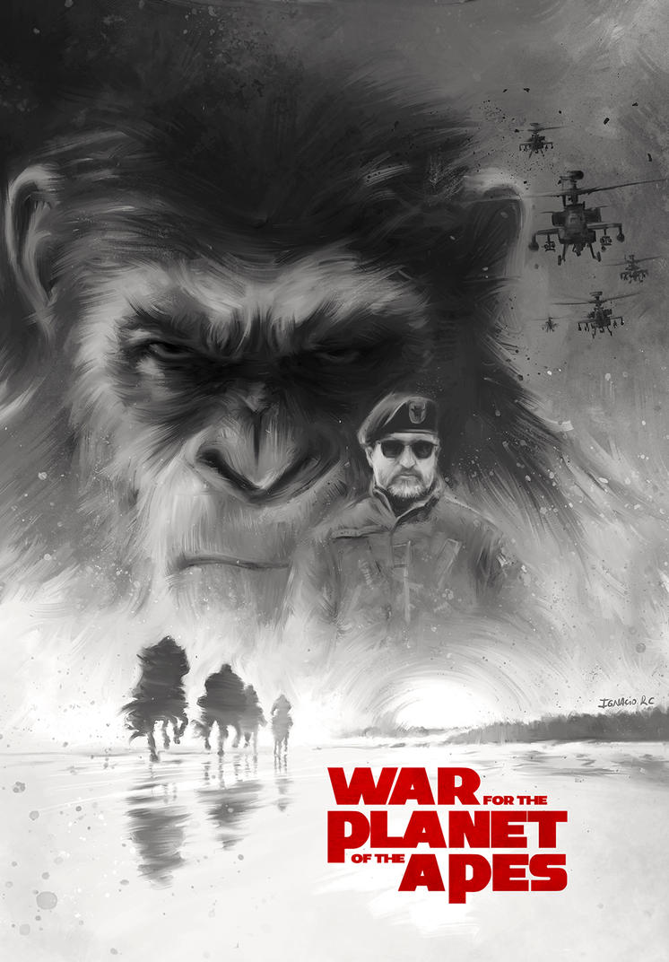 War for the Planet of the Apes. variant by IgnacioRC