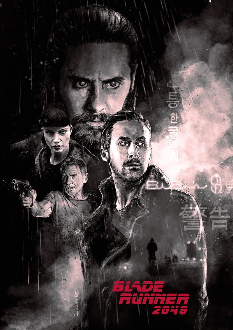 Blade Runner 2049 illustration by IgnacioRC