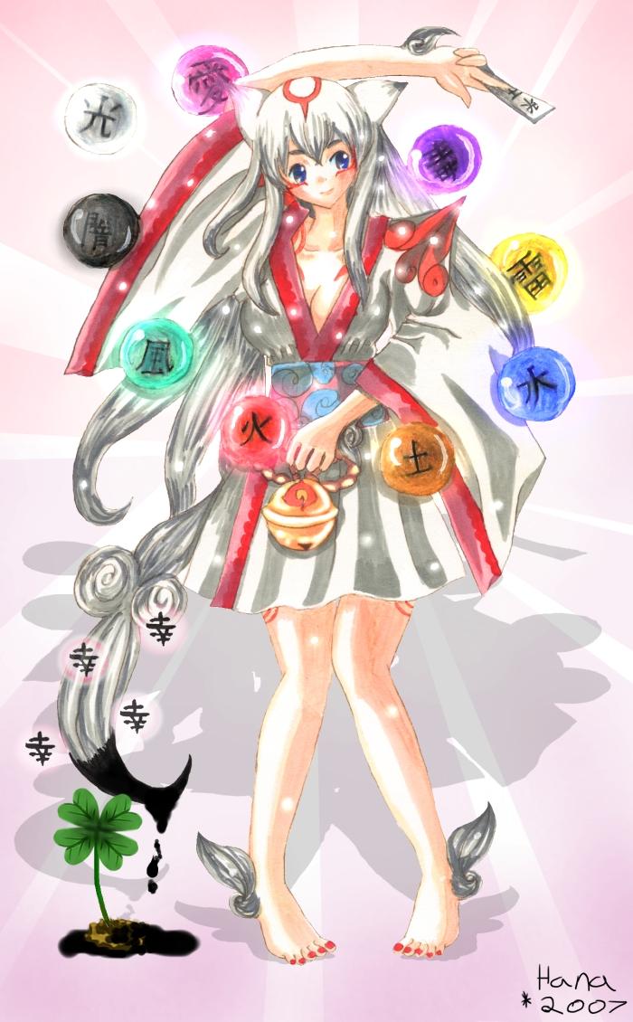 Amaterasu Omikami by Hana-Keijou on DeviantArt