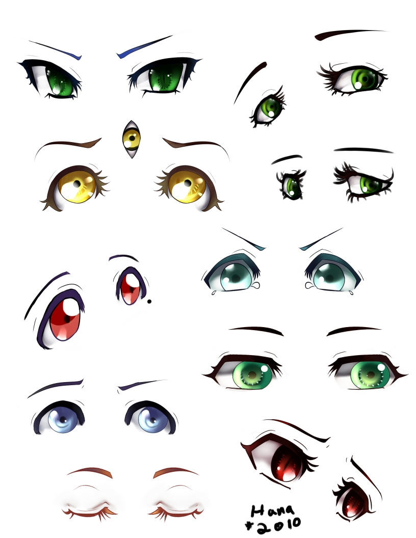 Oc Eye Chart By Hana Keijou On Deviantart