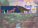 The Land Before Time Bestiary 3: Saurolophus by jongoji245