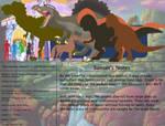 The Land Before Time Bestiary 56: Spinosaurus by jongoji245