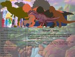 The Land Before Time Bestiary 58: Baryonyx by jongoji245
