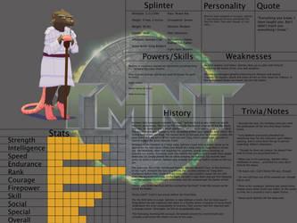 Jongojiverse Bio 26: Master Splinter by jongoji245
