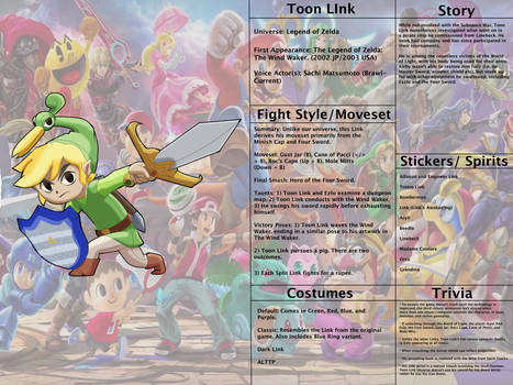 Hypothetical Smash Bros. 2: Toon Link Redux