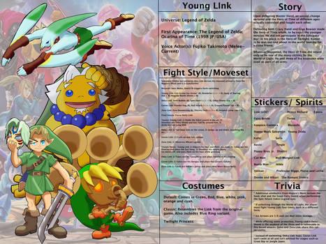 Hypothetical Smash Bros. 3: Young Link Redux