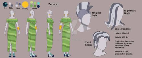 Jongojiverse EG Zecora Concept