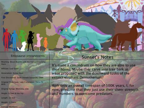 The Land Before Time Bestiary 191: Einiosaurus