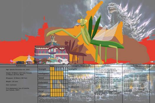 Jongojiverse Kaiju Bio 17: Kamacuras