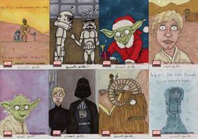Star Wars Galaxy Cards 1 by FaerieShadows