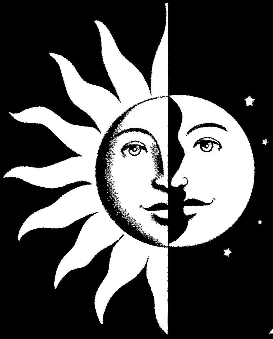 Sun moon stencil by Pasqi on DeviantArt
