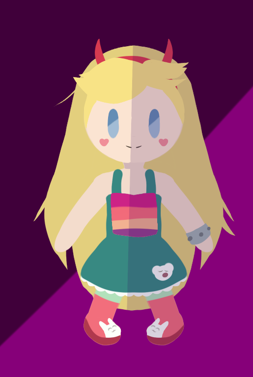 Star butterfly chibi by larisa203