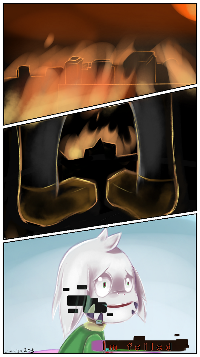 im failed-glitchtale by larisa203