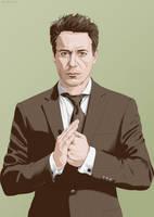 Robert Downey Jr. by green-tk