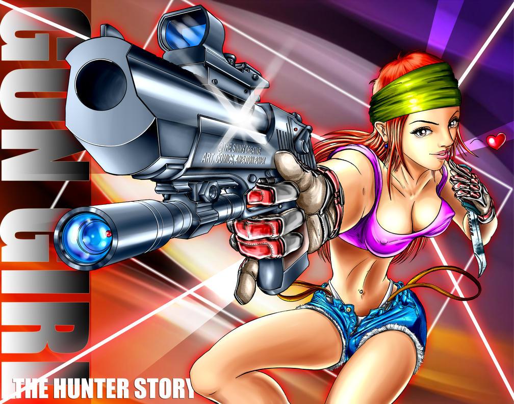 Gun Girl final by sinms